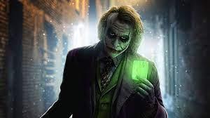 Joker Green Card, HD Superheroes, 4k ...