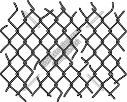 transparent chain link fence texture. 500x404 Chainlink Fence Clipart And Vectorart Graphics Transparent Chain Link Texture