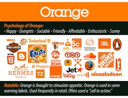 Orange logos: