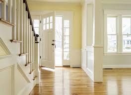 open front door. Staircase Facing The Front Door Open