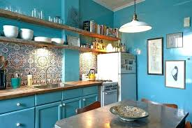 rustic painted kitchen
