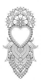 zentangle coloring page coloring book pages zen henna coloring pages yyi2g