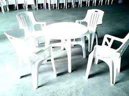 plastic garden table and chairs full size of table plastic table outdoor round plastic tables and