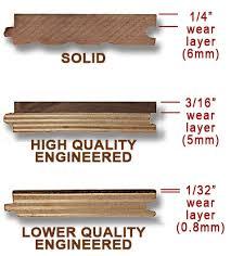 3 ply construction engineered vs solid hardwood flooring