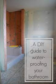A Diy Guide To Waterproofing Your Bathroom The Created Home