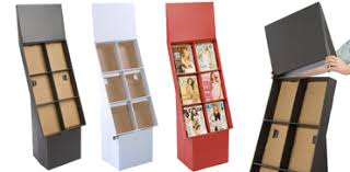 Cardboard Magazine Holder Floor Standing Magazine Rack Freestanding Periodical Holders 13