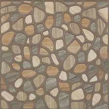 antiskid stone ceramic floor tile brown multi 1115
