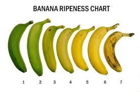 Banana Ripeness Chart How Do I Eat My Bananas 7 Babayy