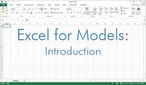 excel modeling financial modeling asimplemodel com