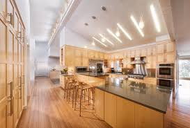 sloped ceiling lighting living room