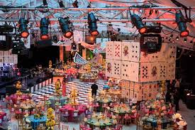 canadian cancer society s daffodil ball channels alice in wonderland