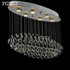 modern er crystal chandeliers lighting fitting oval flush intended for awesome property oval crystal chandelier ideas
