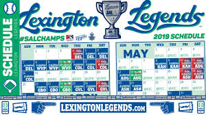 Take A Look Into The Future Legends Announce 2019 Schedule
