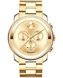 movado watches macy s movado men s swiss chronograph bold gold ion plated stainless steel bracelet watch 44mm 3600278