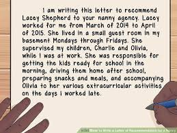 aid v4 728px Write a Letter of Re mendation for a Nanny Step 3 Version 2