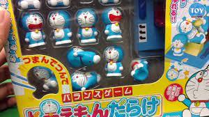 Trò chơi dùng đũa gắp Doremon tí hon thử thách cân bằng trên cỗ máy thời  gian đồ chơi trẻ em - video Dailymotion