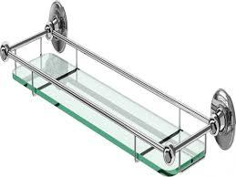 Glass Bathroom Shelf Metal Bookcase With Glass Shelves Bathroom Wall Shelf Glass
