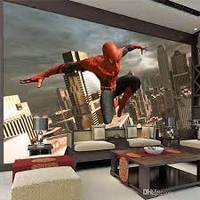 spiderman wallpaper for kids room