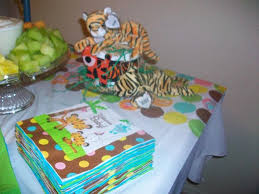 Tray Decoration For Baby Real Jungle Baby Shower see the photos and read the story 33