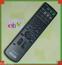 sony tv remote control. sony trinitron color tv remote control rm-y165 tv
