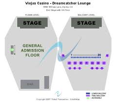 Viejas Casino Seating Chart Viejas Casino Dreamcatcher Lounge All Slots Account Number