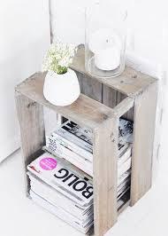 Table de chevet – 30 idées de table de nuit en récup | DIY : tables ...