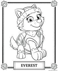 Coloring Pages Paw Patrol Coloring Sheets Chase Super Spy Pages