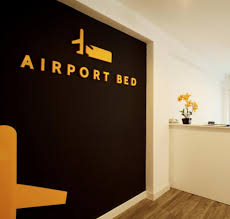 Airport Bed Hotel Airport Bed Logo Inflowmedia