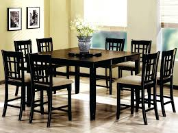counter height table sets tall dinette square dining black bar chairs set breakfast barcelona and room