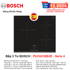 Bếp từ Bosch PUC631BB2E Spain Tây Ban Nha - Điện Máy Đăng Khoa Hải Phòng -  Đồ gia dụng chính hãng giá cực rẻ