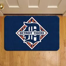 detroit tigers mlb baseball teams league 353 door mat rug