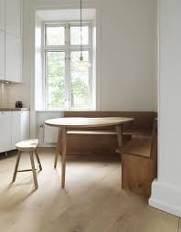 favorite dining booth courtesy. A Copenhagen Kitchen Features Dinesen Heart Oak Furniture (and Floors) For  A Built- Favorite Dining Booth Courtesy D