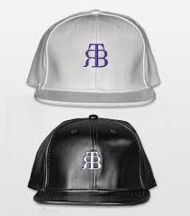 leather ball cap embroidered