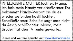 Intelligente Muttertochter Mama Ich Hab Mein Handy Verlorenmama