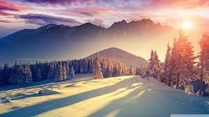 Winter Sunset 1920x1080 Wallpapers ...