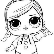 Bright Inspiration Lol Surprise Coloring Pages Spice Doll Dolls Free