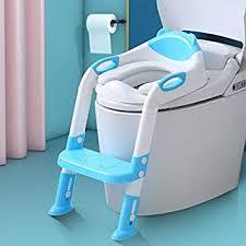 Amazon.co.jp: トイレトレーナー おまる トイレトレーナー 補助便座 折りたたみ トイレ用 取外し可能 子供用 踏み台 ステップ式  トイレトレーニング,ブルー: スポーツ&アウトドア
