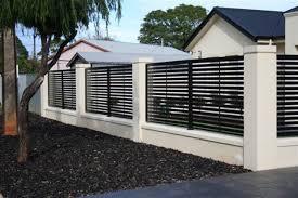 fence design. Modern Aluminum Fence Louvred Metal Sliding Driveway Gate 13 On Home Design Fence Design N