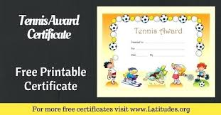 Free School Certificate Templates Kids Award Template For Definition ...