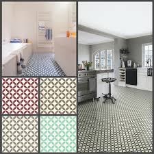 victorian tile design vinyl flooring sheet non slip lino kitchen bathroom roll 1 of 1free