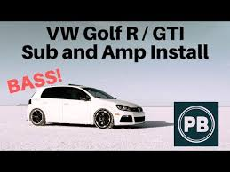 Car Audio Amp Wiring Gti Car Subwoofer Wiring Diagram