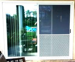 sliding glass dog door with collar pet for the quick panel and patio doors secure do