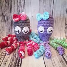Crochet Octopus For Premature Babies Pattern Simple Crochet An Octopus Amigurumi For Preemies Get Pinspired With