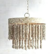 how to make beaded chandelier beaded chandelier inspirational world market antique whitewash wood bead chandelier of