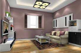 image of good accent wall living room design