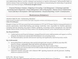 Finance Manager Resume Examples Best Of Financial Manager Resume