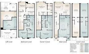 Parkview Townhomes - Floor Plans - Conshohocken PA - PRDC