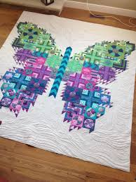 Urban Quiltworks: The Tula Pink Butterfly Quilt - pic heavy & The Tula Pink Butterfly Quilt - pic heavy Adamdwight.com