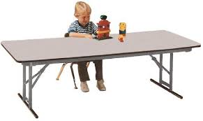 school rectangle table. Rectangular Adjustable Height School Folding Tables Allied . Gorgeous Rectangle Table