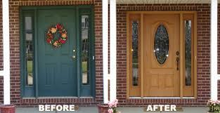 installing front doorWilke Window  Door Replacement Projects Gallery